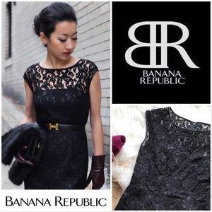 Banana Republic Anna Karenina Lace Sheath Dress